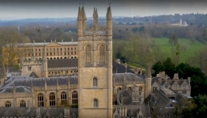 Magdalen College Tower, Oxford