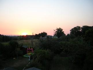 Sunrise, Ash Grove, Headington, 07/2003 - a view now gone.