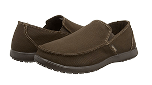 crocs Men's Santa Cruz Clean Cut Slip-On Loafer Review