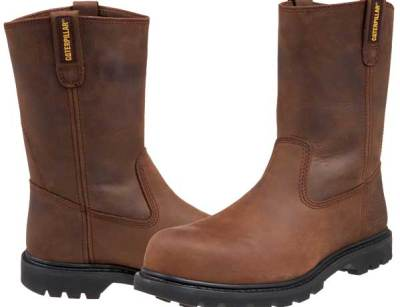 Caterpillar Men's Revolver Pull-On Steel-Toe Boot