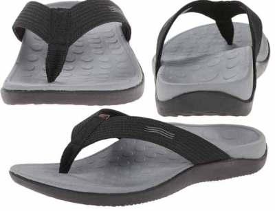 c09e7f51efc0 Best Flip Flops for Plantar Fasciitis. Vionic Unisex Wave Toe Post Sandal