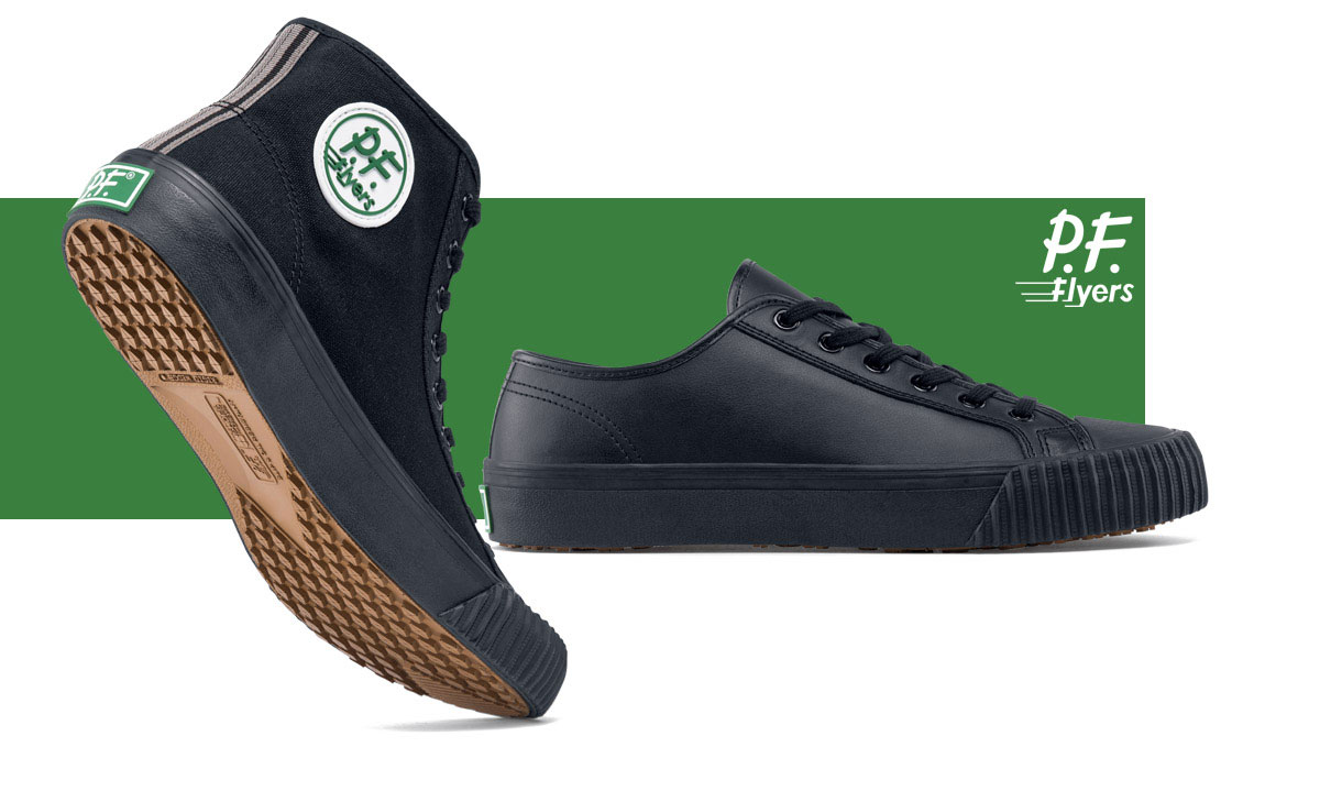 kitchen safe shoes design your own lowes for crews slip resistant work boots clogs pf flyers