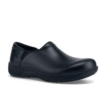 Cute Black Slip Resistant Work Shoes