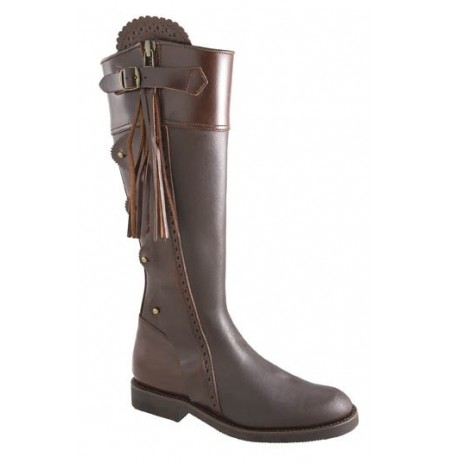 Made To Measure Spanish Style Leather Hunting Boots