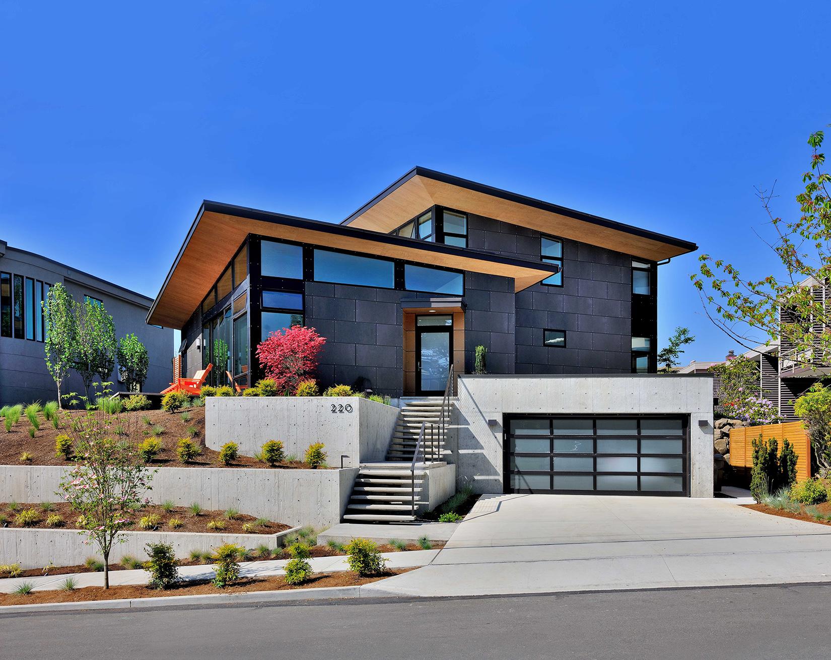 SingleFamily Custom Home Design MidCentury Modern