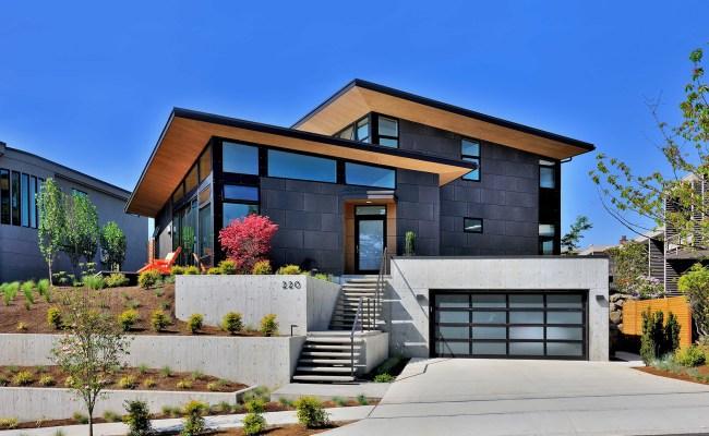 Single Family Custom Home Design Mid Century Modern