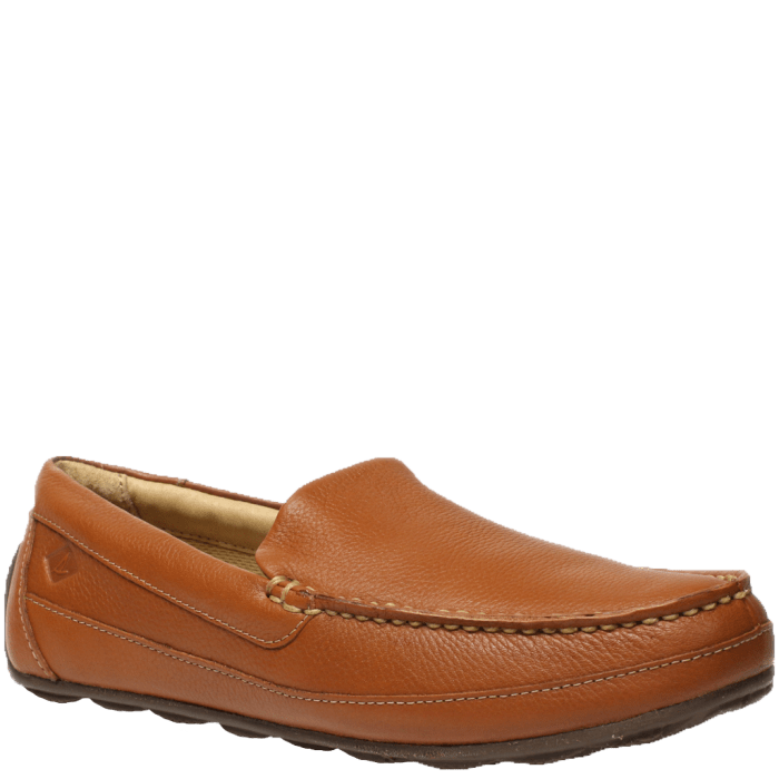 Brown Tan Slip On Shoes