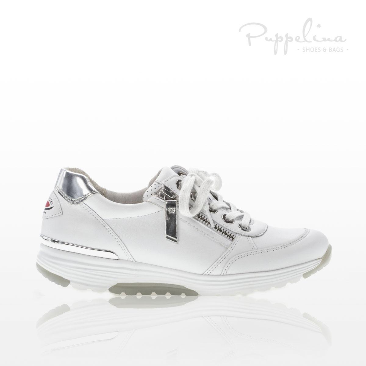 puppelina gabor sneaker rolling soft vit