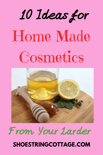 home made cosmetics