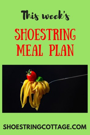 money saving meal plan