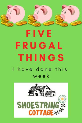 five frugal things