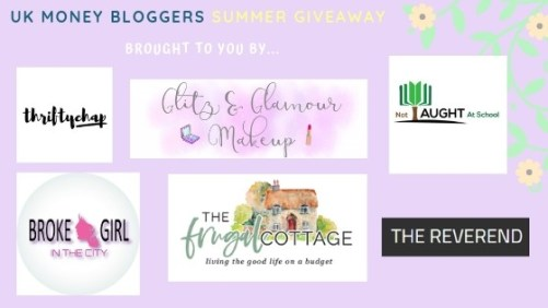 UK Money Bloggers giveaway
