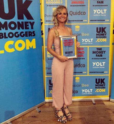 award winning money blogger