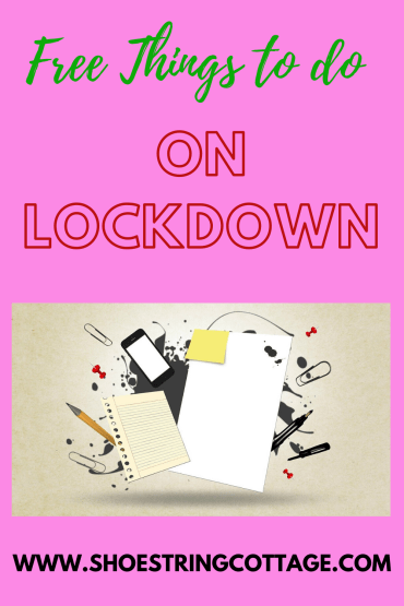 free things to do on lockdown