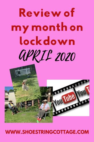 my month in lockdown