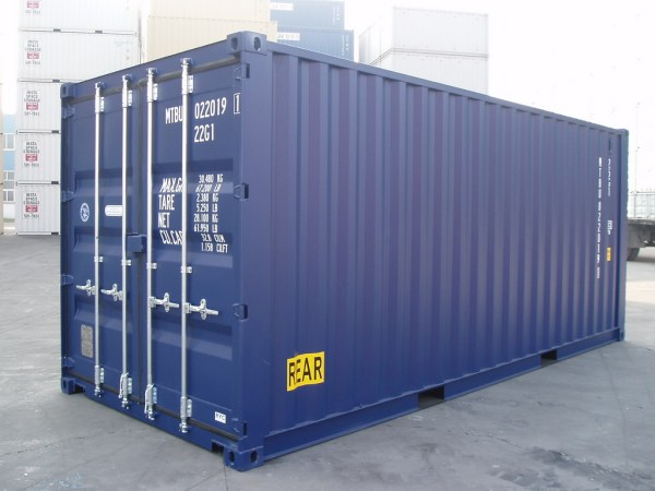 Export shipping rate for 20′ Dry Container from LIMASSOL