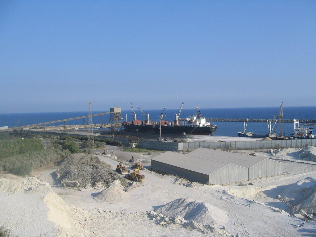 Vassiliko port dry cargo terminal