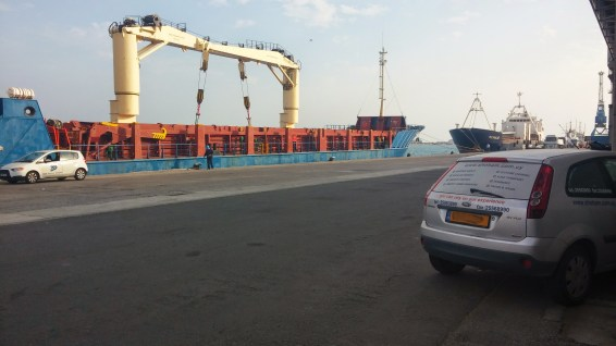 chartering of vessel to load risers