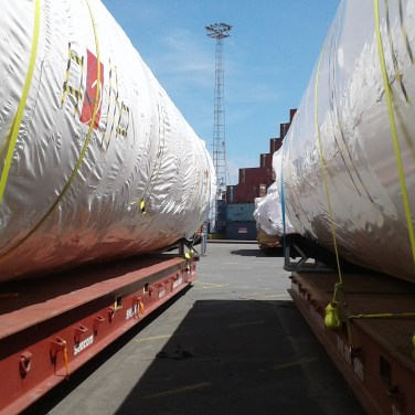 shipment of silos to Limassol