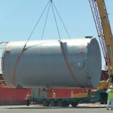 Vassilikos Cyprus desalination project logistics (7)
