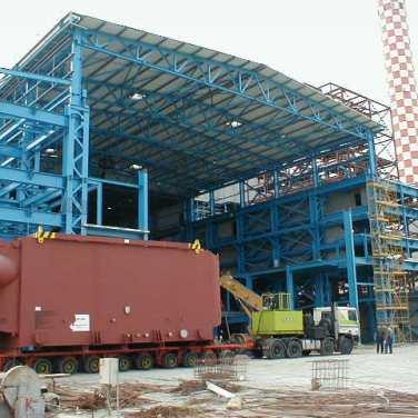 Vassilikos Power Station logistics project