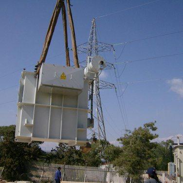 transport of transformer to Episkopi substation