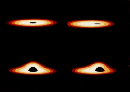 「ブラックホール 見え方」の画像検索結果