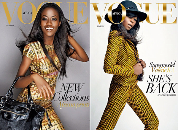 Mario Epanya - Fictional Vogue Africa Covers
