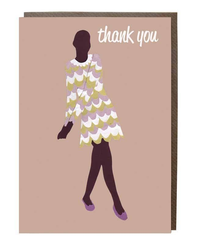 thanks girl card Sweet Design Studio