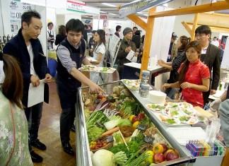 ACCI Gusto 2016 イタリア食材としてこだわり野菜も登場(第4回展示会から)
