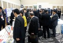 西日本で開催された交流会(かんしょでん粉食品 試食・展示会)