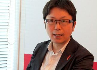 島岡芳和統括部長(日本コカ・コーラ)