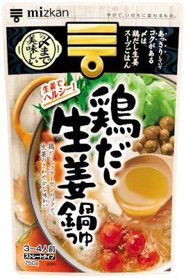 鶏だし生姜鍋つゆ(Mizkan)