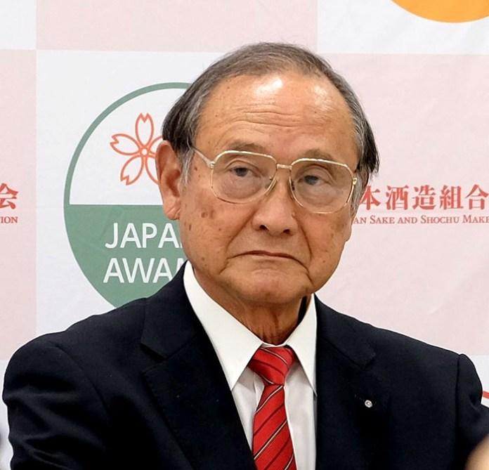 篠原成行会長(日本酒造組合中央会)