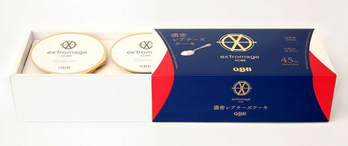 「濃密レアチーズケーキ」(ex'fromage KOBE 六甲バター)