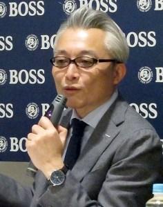 柳井慎一郎常務執行役員(サントリー食品インターナショナル)
