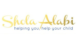 Shola Alabi helping you help your child logo