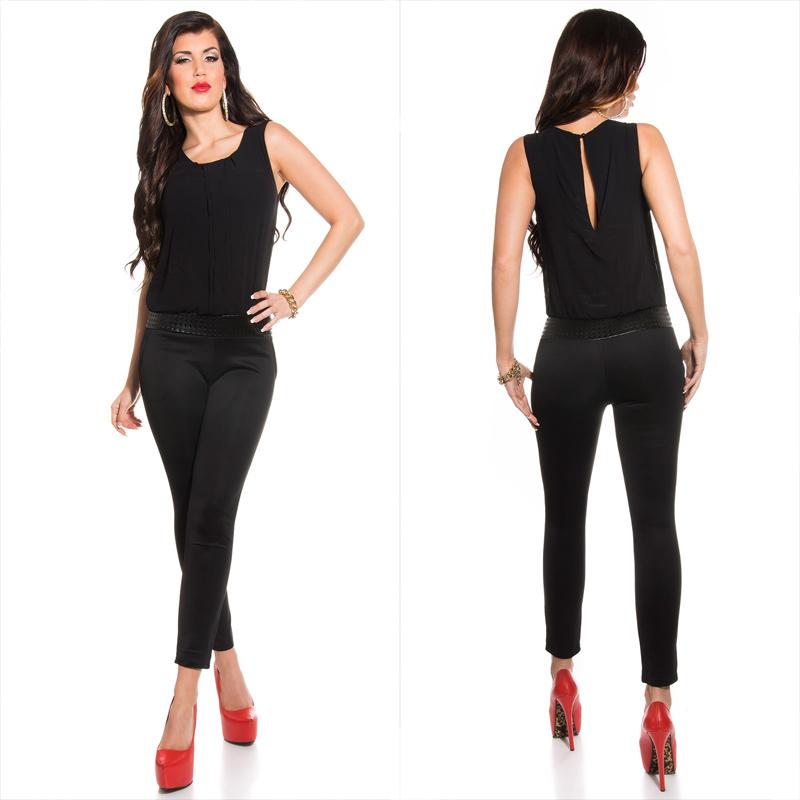 030919814195 Elegant jumpsuit Black - Sexy clothing online shop