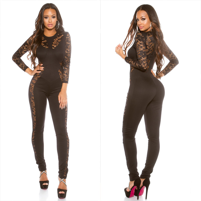 df246341768b Sexy KouCla jumpsuit with lace - Sholox Online Womens Store ...