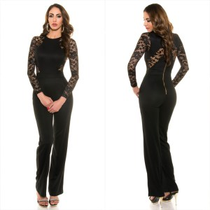 53bb452151 Leather-look jumpsuit KouCla - Sholox Online Womens Store
