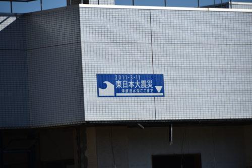 高野会館:津波の到達点