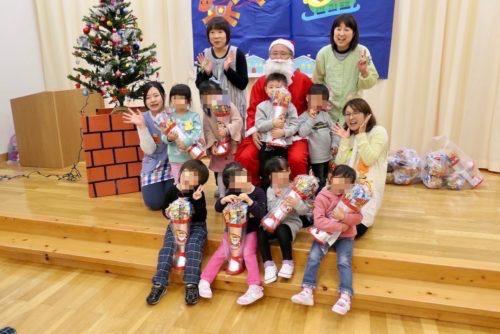 サンタさんのプレゼント:子供達と