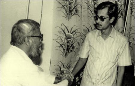 মাওলানা মতিউর রহমান নিজামীর সাথে শেখ সেলিম