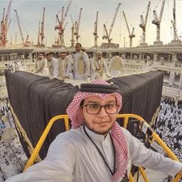 selfie in kabba