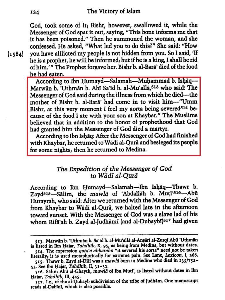 History of al Tabari vol-8 p124