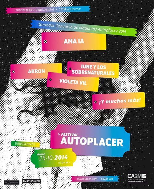 Primeros confirmados del V Festival Autoplacer