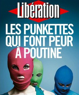 Pussy Riot en Liberation, agosto de 2012