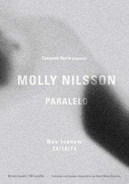 Molly Nilson, en octubre en Barcelona