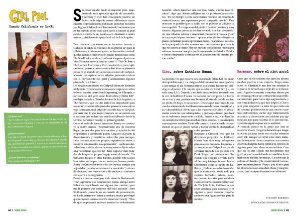 Entrevista a Girlpool en Shook Down Underzine