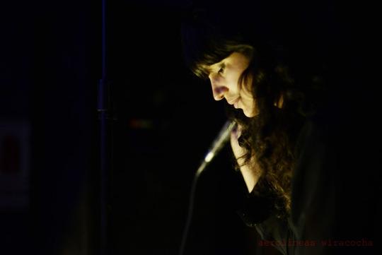 Solange Jacobs, en directo